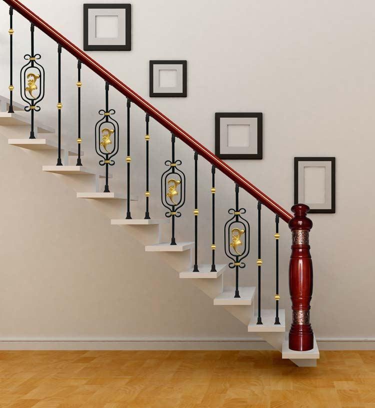 int rieur d coratif en fer forg rampe d 39 escalier balustrade en fer utilis en fer forg rampe d. Black Bedroom Furniture Sets. Home Design Ideas