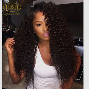 Aliexpress Wholesale Cheap Pineapple Wave Natural Color Brazilian Hair Lace  Front Wig For Black Women 28f96b3550