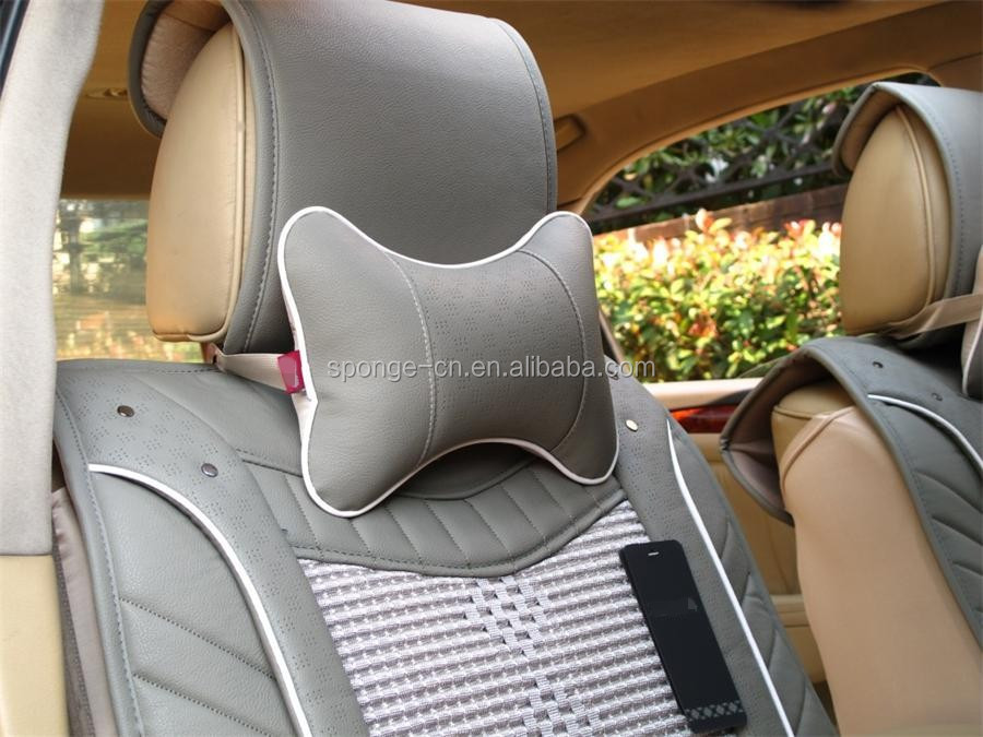smart electric power car interior accessories private car seat head neck rest pillow lower neck. Black Bedroom Furniture Sets. Home Design Ideas