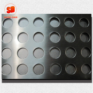 Factory Supply Steels 201 Stainless Steel Plate Perforated Cut To Size Made In China