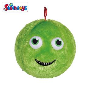 Inflatable Plush Bouncy Fuzzy Cover Soft Ball for Kids