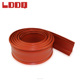 LDDQ Black silicone rubber insulation cover in 30mm overhead wire protection sleeve