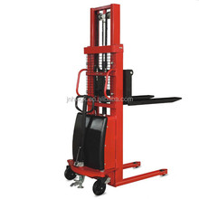 New model electric forklift & hand push electric stacker in china