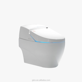 high quality floor mounted smart toilet with remote control