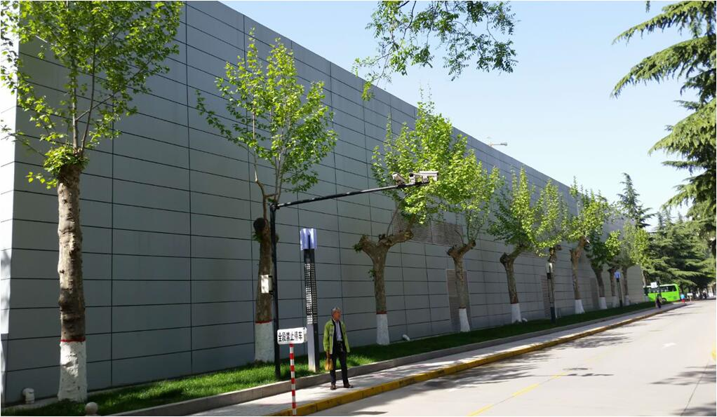 Commercial building exterior wall cladding colour UV Curing fiber cement board