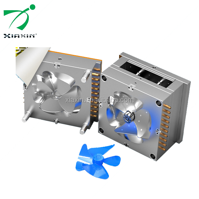 Professional supply of household plastic fan leaf injection mold design and processing