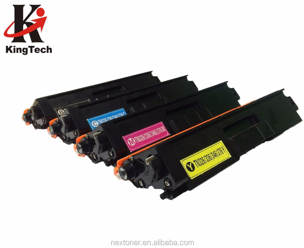Colore cartuccia di toner Compatibile TN326 336 346 376 396 BK C M Y per brother