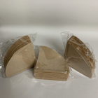 V01 shape coffee filter rolling paper for 1-2 persons size 105*140 mm 100pcs virgin wood pulp coffee bag filter paper