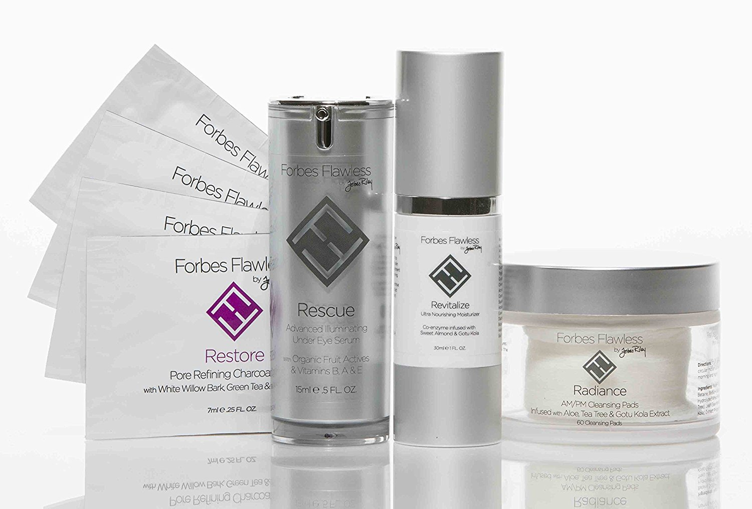 Forbes Flawless Refine - Step 3 in The Best Anti-Aging Skin Care Series - Brighten and Tighten With Powerful Collagen Boosters, Forbes Forever Flawless by Forbes Riley.