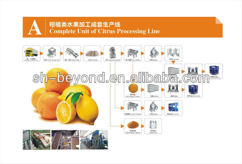 Citrus Juice Processing Line Orange Juice Processing Equipment