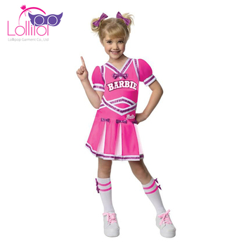 Wholesale glee fancy dress cheerleader role play costume for kids girl