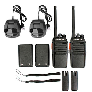 Retevis RT24 PMR446 Walkie Talkie UHF Licence-Free handheld Two Way Radio  16Channels Scan 0 5W TOT VOX For business Security