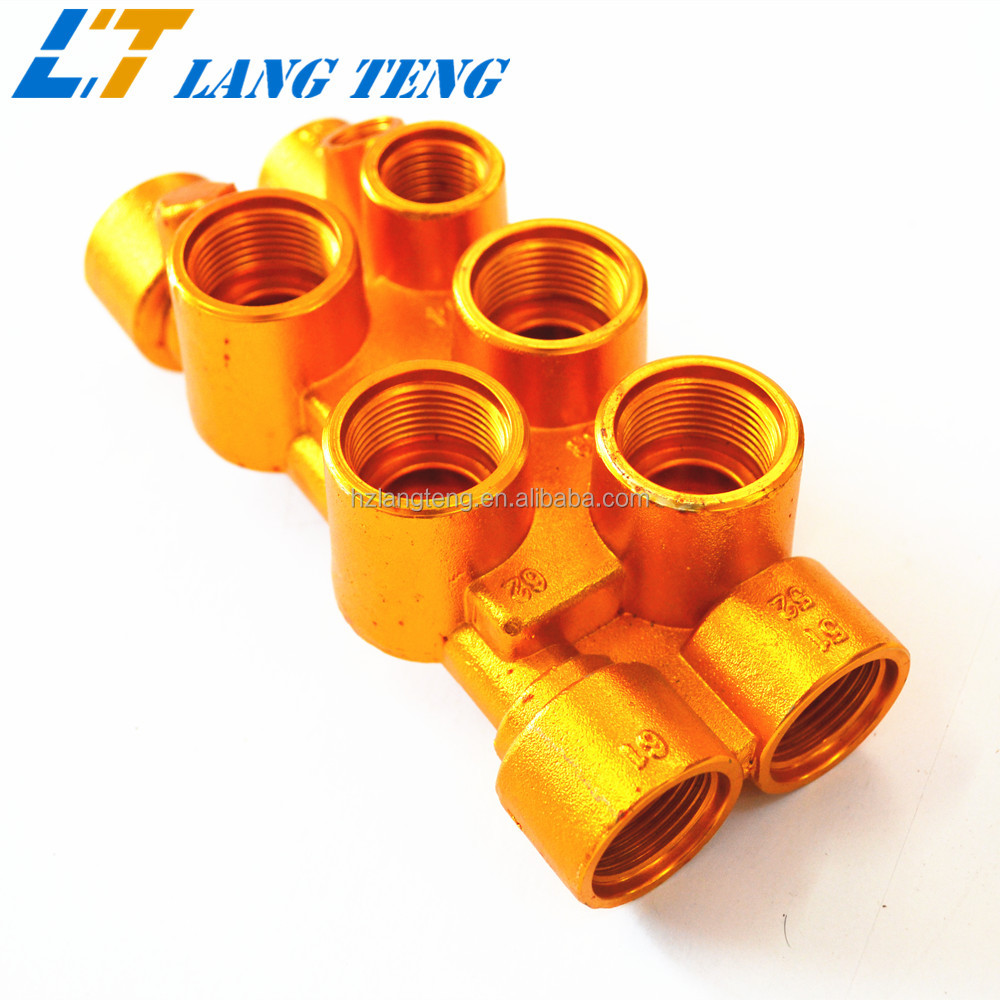 OEM Forged Miniature Brass Gas Valve Fittings and Parts