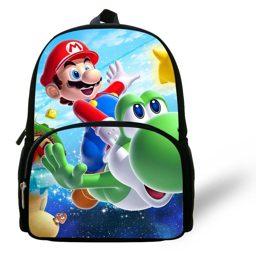 19859818a4e4 Buy 12-inch Mochila Super Mario Backpack Children School Bags For Girls  Cartoon Boys Bag Kids School Backpack Kindergarten in Cheap Price on  Alibaba.com