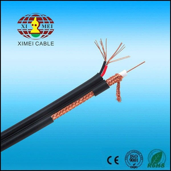 Thin Coaxial Cable,Rg6 60%,Rg6 Cable For Catv/cctv 75 Ohm - Buy ...