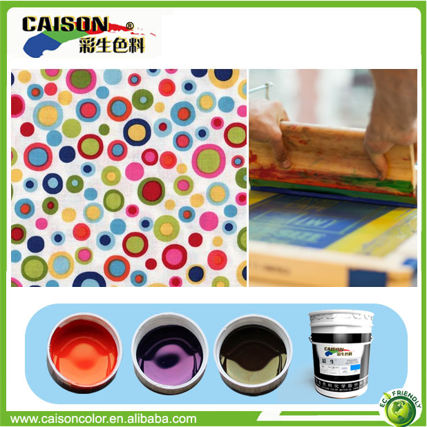 textile printing pigment paste,fabric printing color paste,printing pigment