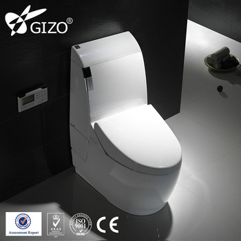 Gizo JJ-0804 Remote Operated Electric Hot Water Cleaning Bidet Toilet