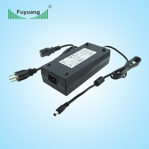High power 250W 3 stage 25.5v 6.5a car e-bike battery charger
