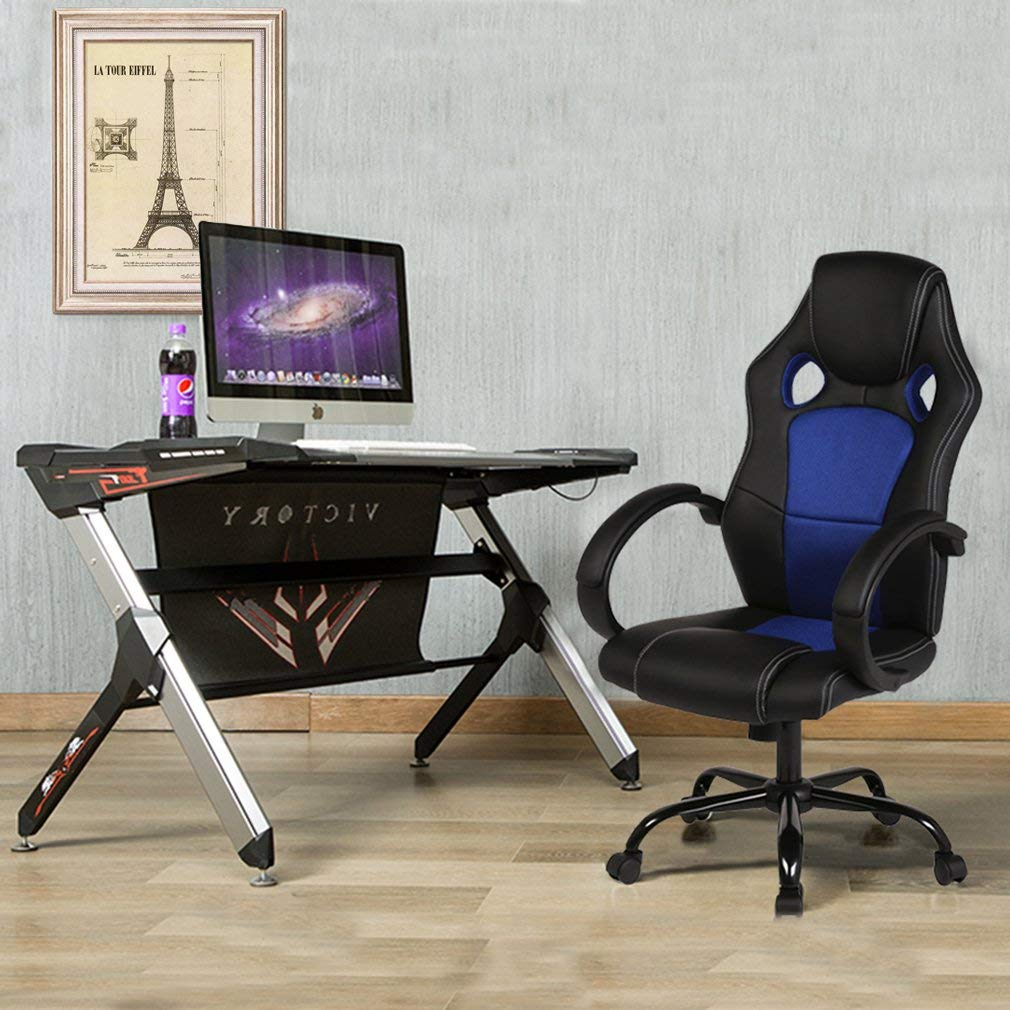 Office Chair Desk Computer Gaming Chair,High Back Ergonomic Racing Chair BestMassage