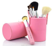 Synthetic Cosmetic Makeup Brush Sets Powder Brush Angel Brush Cylinder Box Packaging