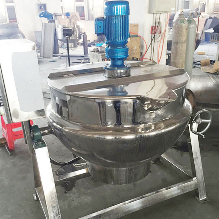 200L stainless steel electric heating soup pot
