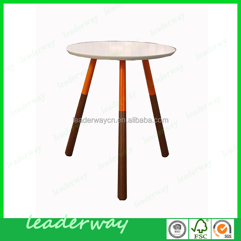 Cheap Round Tables For Sale: 2016 Hot Sale Cheap Classic Round Three Legs Solid Wood