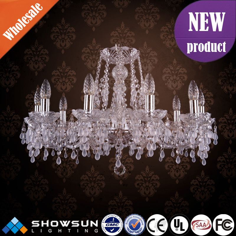 UL Unique Chic Bohemian Chandelier Crystal Made In China