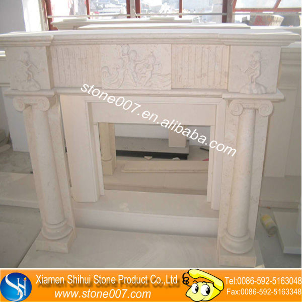 Natural Stone decor flame electric fireplace With Quality Assurance