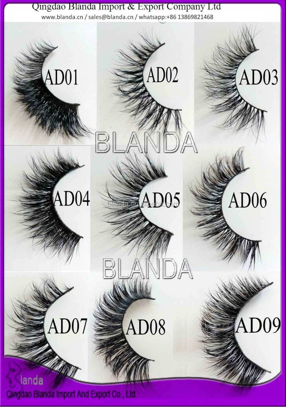 41c3264d052 2016 hot selling 3d silk lashes; custom eyelash packaging; private label  eye lashes package