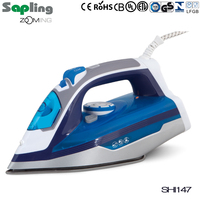 UL/ETL approval 1200W 320ML water tank capacity self cleaning dry& steam function electric iron