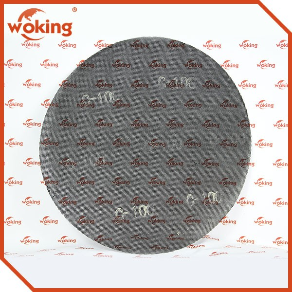 17 inch round silicone carbide sanding screen P100# grit.