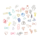 All kinds of special shape metal paper clips/ pvc beautiful paper clip