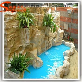 decoracin de la cascada montado en la pared cascada cortina cascadas artificiales para el hogar - Cascadas Artificiales