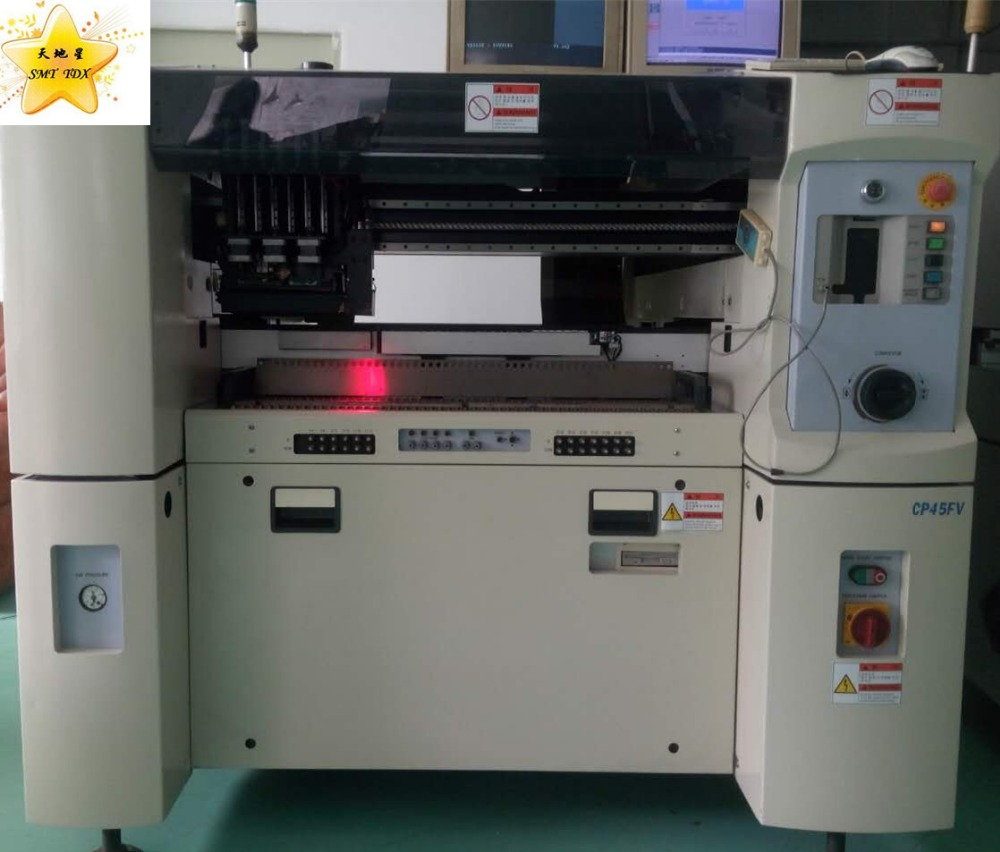 Led smt pick and place machine Samsung CP45FV automatische LED montage machine
