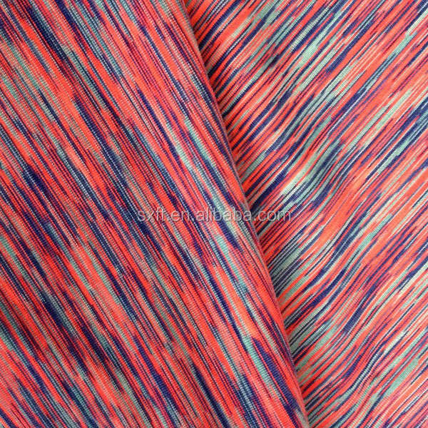 Polyester spandex space dye yarn fabric buy space dye for Space is not fabric