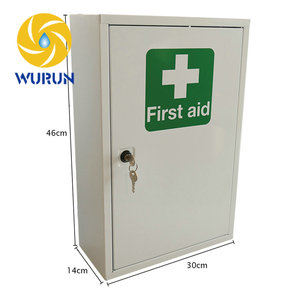 China Manufacturer Free Drawing Iron Powder Coated What Should Be Things In A First Aid Kit Box Contents