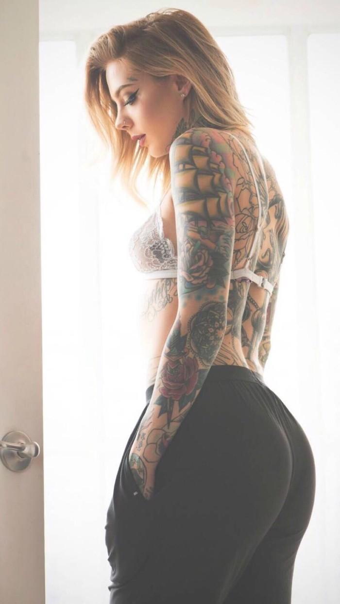 Cathedral Chest Piece Temporary Tattoo Sticker Fake Women Body Art ...