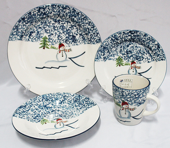 Christmas ceramic dinner set everyday dishes dinnerware china dinner set for NFA0381china dinner set  sc 1 st  Alibaba : christmas stoneware dinnerware sets - pezcame.com