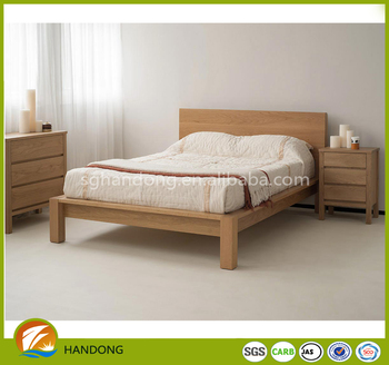 Adult Bedroom Furniture Simple Double Bed Design In Woods