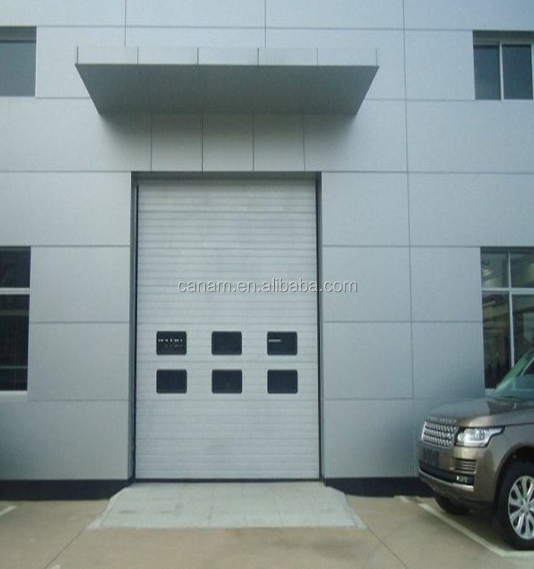 Warehouse PVC Fast rolling door/Rapid rolling door/control box high speed door China