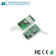 High sensitivity Super-heterodyne Low voltage rf Long Distance Transmitter Module KL1000A