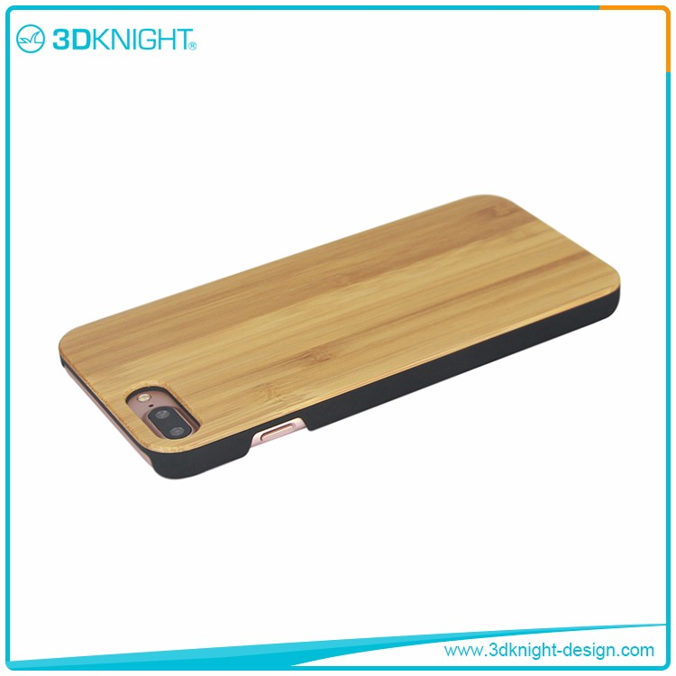 Cheap wholesale cell phone accessories bamboo telephone case for iphone 7