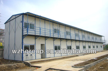 Two Storey Steel Structure Living Quarters / Dormitory / Shed