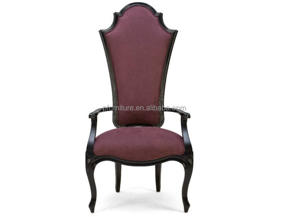 Classic High Back Dining Wooden Chair Designs