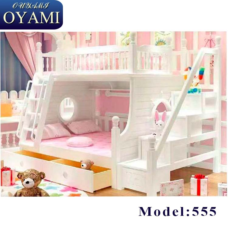 Oyami new model bunk bed with slide