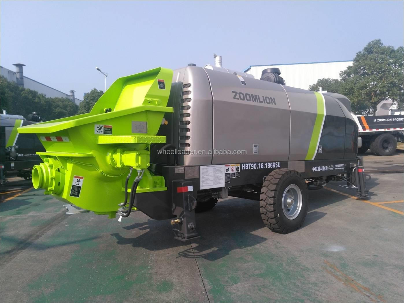 HBT40 100Bar ZOOMLION Portable Concrete Pump