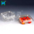 2019 New Clear Disposable Plastic Food Container Takeaway Fruit Punnet Container