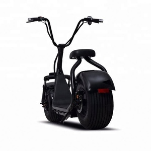 2019 YIDE Supply Theftproof fat tyre 1000W citycoco electric scooter with shock absorber for adults