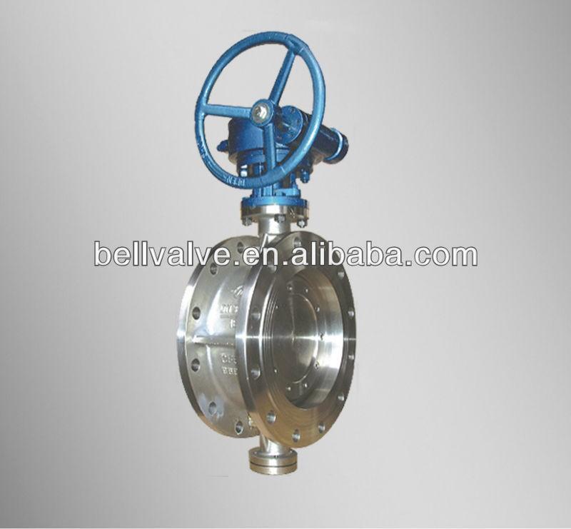 Motorizzate doppia valvola a farfalla eccentrico valvola for Motor operated butterfly valve