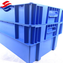 Factory price good quality hdpe plastic turnover boxes crate